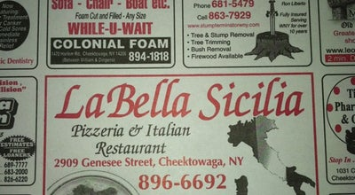 Photo of Italian Restaurant LaBella Sicilia at 2909 Genesee St, Cheektowaga, NY 14225, United States