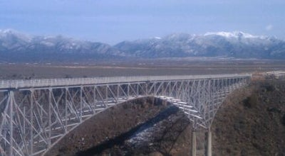 Photo of Bridge Rio Grande Gorge Bridge at Us Hwy 64, NM, United States
