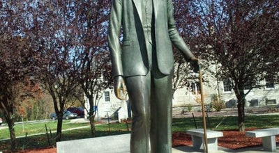 Photo of History Museum Robert Wadlow Statue at 2810 College Ave. (il. Rte. 140), Alton, IL 62002, United States