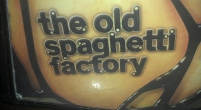 Photo of Italian Restaurant The Old Spaghetti Factory at 1418 N Central Ave, Phoenix, AZ 85004, United States