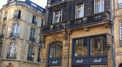 Photo of Cafe Karl at 6 Place Du Parlement, Bordeaux 33000, France