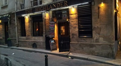 Photo of Pub The Highlander at 8 Rue De Nevers, Paris 75006, France