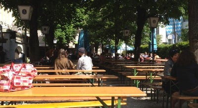 Photo of Beer Garden Biergarten Löwenbräu at Nymphenburger Str. 2, Munich 80335, Germany