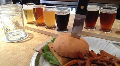 Photo of Burger Joint Bull City Burger and Brewery at 107 E Parrish St, Durham, NC 27701, United States