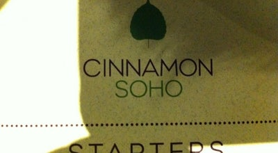 Photo of Indian Restaurant Cinnamon Soho at 5 Kingly Street, London W1B 5PF, United Kingdom