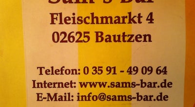 Photo of Bar SAM's Bar at Fleischmarkt 4, Bautzen 02625, Germany