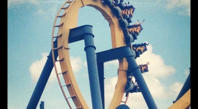 Photo of Theme Park Ride / Attraction Batman the Ride at Six Flags Over Texas, Arlington, TX, United States