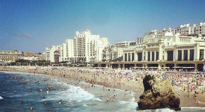 Photo of Beach Grande Plage at Grande Plage, Biarritz 64200, France