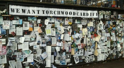 Photo of Monument / Landmark Ianto's Shrine at Mermaid Quay, Cardiff Bay, Cardiff CF10 4DQ, United Kingdom
