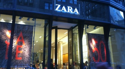 Photo of Clothing Store Zara at 101 5th Ave, New York, NY 10003, United States