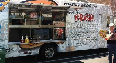 Photo of Food Truck Krush Burger at (moving Target), Sacramento, CA 95814, United States