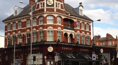 Photo of Nightclub The Famous Three Kings at 171-173 North End Road, London W149NL, United Kingdom