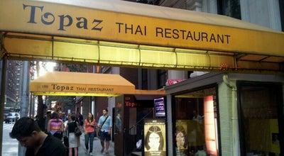 Photo of Asian Restaurant Topaz Thai Restaurant at 127 W 56th St, New York, NY 10019, United States