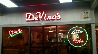 Photo of Pizza Place DeVino's Pizza & Pasta at 2221 Morello Ave, Pleasant Hill, CA 94523, United States
