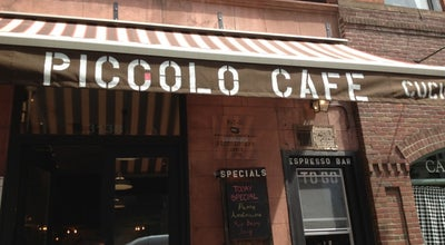 Photo of Italian Restaurant Piccolo Cafe at 313 Amsterdam Ave, New York, NY 10023, United States