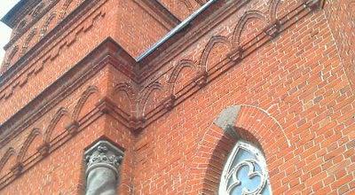 "Photo of Church Лютеранская церковь Святой Марии (""Кирха"") at Ул. Ленина, 100, Ульяновск 432000, Russia"
