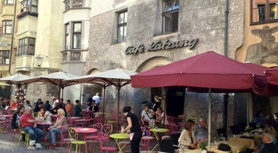 Photo of Cafe Café Katzung at Herzog-friedrich-str. 16, Innsbruck 6020, Austria
