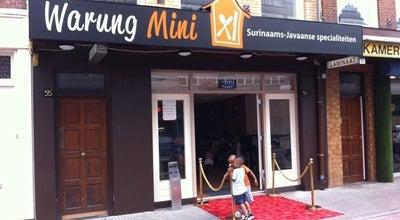 Photo of Indonesian Restaurant Warung Mini at Amsterdamse Veerkade 57a, Den Haag 2512 AH, Netherlands