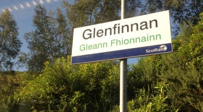 Photo of Train Station Glenfinnan Railway Station (GLF) at Glenfinnan, Highland PH37 4LS, United Kingdom