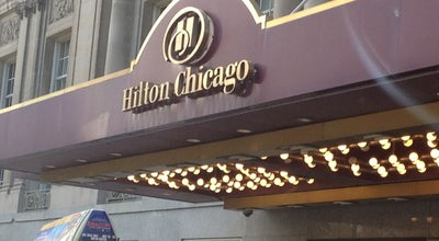 Photo of Hotel Hilton Chicago at 720 South Michigan Avenue, Chicago, IL 60605, United States