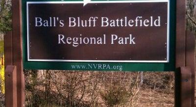 Photo of Park Ball's Bluff Battlefield Regional Park at Ball's Bluff Rd Ne, Leesburg, VA 20176, United States