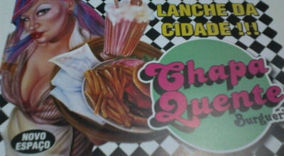Photo of Burger Joint Chapa Quente at R. Da. Carmelita Gama Romeiro, 235, Pindamonhangaba 12410-200, Brazil
