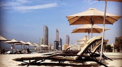 Photo of Beach Abu Dhabi Corniche Public Beach at Cornish, Abu Dhabi, United Arab Emirates