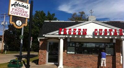 Photo of Ice Cream Shop Adrian's Frozen Custard at 572 Bridge St, Burlington, WI 53105, United States