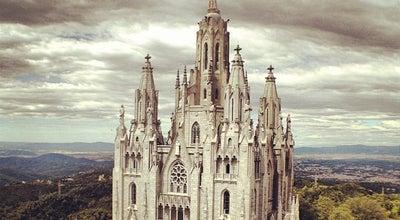 Photo of Church Temple Expiatori del Sagrat Cor at Tibidabo, Barcelona 08035, Spain
