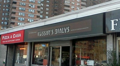 Photo of Restaurant Kossar's Bialys at 367 Grand St, New York, NY 10002, United States