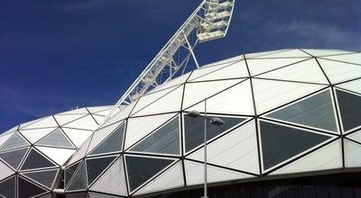 Photo of Football Stadium AAMI Park at Olympic Boulevard, Melbourne, VI 3004, Australia