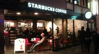 Photo of Coffee Shop Starbucks at Leidsestraat 101, Amsterdam 1017 NZ, Netherlands
