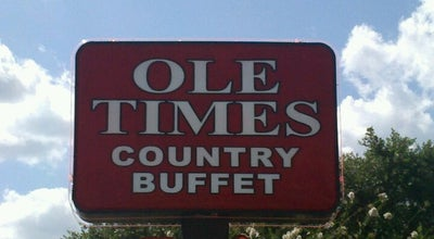 Photo of BBQ Joint Ole Times Country Buffet at 1193 N Saint Augustine Rd, Valdosta, GA 31601, United States