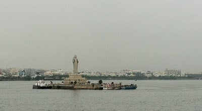 Photo of Lake Tank Bund at Hyderabad, India
