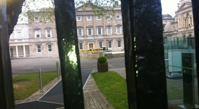 Photo of Government Building Leinster House at Tithe An Oireachtais, Kildare St, Dublin 2, Ireland