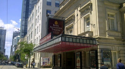 Photo of Theater Royal Alexandra Theatre at 260 King St W, Toronto, ON M5V 1H9, Canada