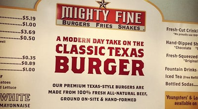 Photo of Burger Joint Mighty Fine Burgers at 10515 N Mopac Expy, Austin, TX 78759, United States