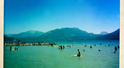 Photo of Beach Plage d'Albigny at Plage D'albigny, Annecy-le-Vieux, France