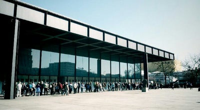 Photo of Art Museum Neue Nationalgalerie at Potsdamer Str. 50, Berlin 10785, Germany