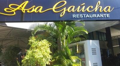 Photo of Southern Brazilian Restaurant Asa Gaúcha Restaurante at Sclrn 709 Bl. E, Lj. 56, Brasília 70750-515, Brazil