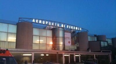 """Photo of Airport Aeroporto di Firenze """"Amerigo Vespucci"""" (FLR) at Via Del Termine, 11, Firenze 50127, Italy"""