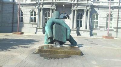 Photo of Outdoor Sculpture Socha Toho Kostky at Moravské Náměstí, Brno 602 00, Czech Republic