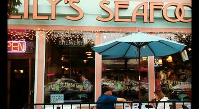 Photo of Seafood Restaurant Lily's Seafood Grill & Brewery at 410 S Washington Ave, Royal Oak, MI 48067, United States