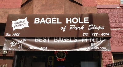 Photo of Bagel Shop Bagel Hole Of Park Slope at 400 7th Ave, Brooklyn, NY 11215, United States