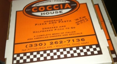 Photo of Pizza Place Coccia House at 764 Pittsburg Ave, Wooster, OH 44691, United States