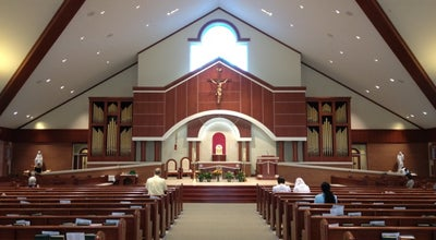 Photo of Church All Saints Catholic Church at 9300 Stonewall Rd, Manassas, VA 20110, United States