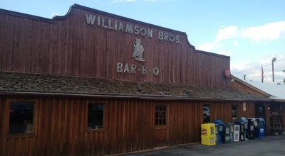 Photo of BBQ Joint Williamson Bros Bar-B-Q at 1425 Roswell Rd, Marietta, GA 30062, United States