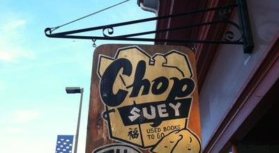 Photo of Bookstore Chop Suey Books at 2913 W Cary St, Richmond, VA 23221, United States