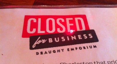 Photo of Pub Closed For Business at 453 King St, Charleston, SC 29403, United States