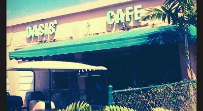 Photo of Cafe Oasis Cafe at 19 Harbor Dr, Key Biscayne, FL 33149, United States